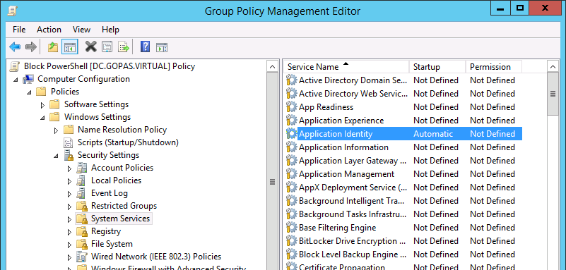 How to block running PowerShell scripts on user workstations